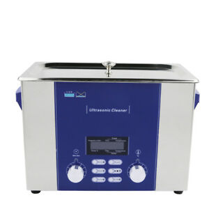 6 Liter Tattoo Sterilizers Ultrasonic Cleaner Cleaning Power Adjustable Dr p60