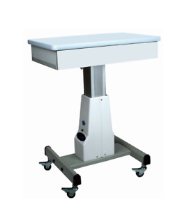 Optical Motorized Power Table Optical Instrument Table With Large Drawer