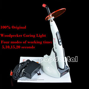 Usps Woodpecker Dental Led Curing Light Wireless Cordless Lamp 1200mw Led b