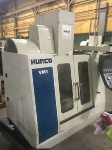 Hurco Vm 1 2003 Del 2004 Vertical Machining Center