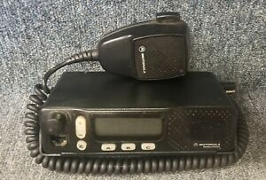 Motorola M1225 M 1225 Uhf Mobile Radio 40 Watt 20 Channel Buy 1 To 9 Units W mic