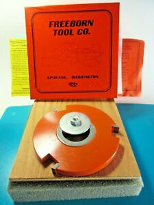Freeborn Tool Pc 22 006 Carbide Tipped Shaper Cutter Straight Top Groover