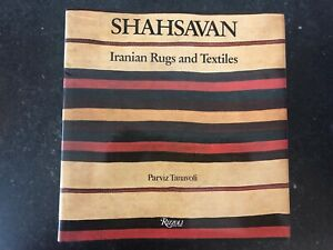Shahsavan Iranian Rugs And Textiles 1985 Persian Rugs And Flat Weaves Book