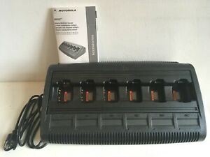 Motorola Impres Adaptive Multi Unit Charger Wpln4197a New With Cable Manual