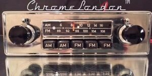 Blaupunkt Frankfurt Us Vintage Chrome Classic Car 108fm Radio Mp3 1yr Warranty