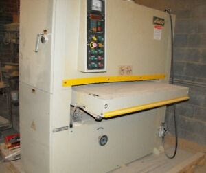 Wood Working 43 Wide Belt Sander With Thickness Control