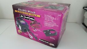 Electric Towing Winch 12 Volt Portable Boat Atv Truck Trailer 2 6000 Lbs Remote