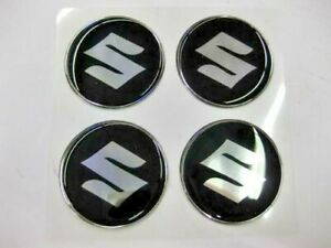 Wheel Center Emblem Set For Suzuki Samurai Sidekick 49mm In Diameter New 873