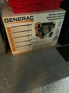 New In Box Generac Gp5500 5500 Watt Portable Generator