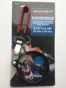 Shop Craft 2 1 2 To 3 3 8 Deluxe Swivel Head Oil Filter Wrench