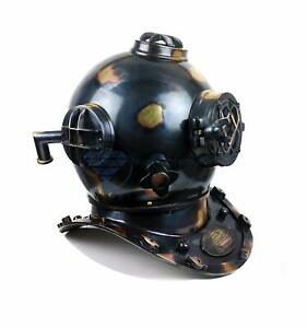 Scuba Diving Nautical Helmet Maritime Ship S Decorative Helmet 18inches Antiq