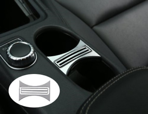 Cup Holder Cover Frame Trim For Mercedes Benz Cla Gla A Class Car Accessories