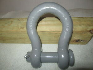14 Ton wll Anchor Clevis Shackles By Midland Mfg In The U s a Free Shipping