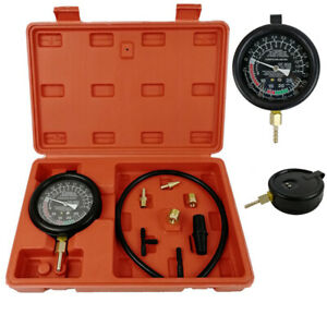 Tu 1 Fuel Pump Vacuum Tester Gauge Leak Carburetor Pressure Diagnostics W Case