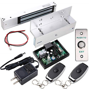 Uhppote Access Control Inswinging Door 600lbs Electromagnetic Lock Kit With