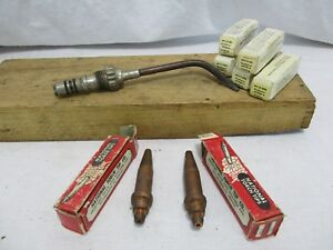 Welding Brazing Cutting Torch Lot Vintage Antique Old School Nos National Smith