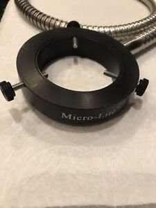 36 Micro lite Microscope Fiber Optic Ring Light
