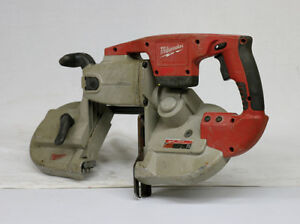 Used Milwaukee Cordless Band Saw no Battery