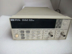 100 Test Hp agilent keysight 53131a 225 Mhz Unuversal Frequency Counter