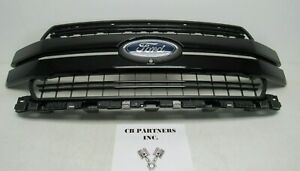 New Takeoff 2018 2019 2020 Oem Ford F150 Unpainted Front Grille With Emblem