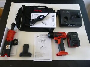 New Snap On 3 8 Dr 18v Cordless Impact Wrench 14 4 Ratchet Dual Charger Ck38rix