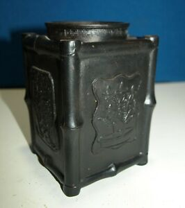 Chinese Yixing Black Pottery Brush Pot