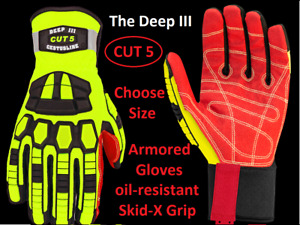 Cestus Armored Gloves Deep Iii Cut 5 3204cut5 Cut Resistant Impact Protection