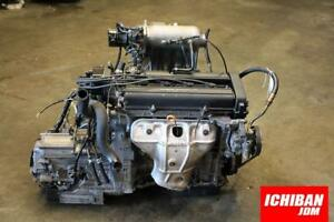 Jdm B20b Honda Crv Motor 4x4 All Wheel Drive Auto Trans 97 01 Engine Skpa