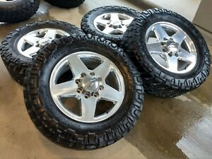 20 Chevy Silverado Gmc Sierra 2500 Oem Wheels Rims Tires 35 5703 2015 2016 2017
