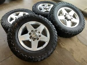 20 Chevy Silverado Gmc Sierra 2500 Oem Wheels Rims Tires 35 Toyo 5703 8x180