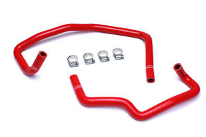 Hps Reinforced Red Silicone Heater Hose Kit Coolant For Toyota 03 09 4runner