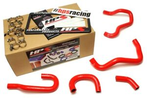 Hps Red Reinforced Silicone Heater Hose Kit For Honda 06 09 S2000