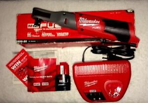 Milwaukee New Fuel 2558 20 M12 12v Cordless 1 2 Ratchet 2 0 Battery Charger