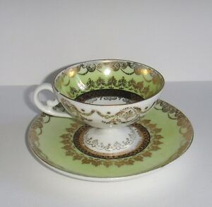 Royal Vienna Style Rare Fine Porcelain Demitasse Cup And Saucer Ca 1900 45