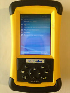 Trimble tds Recon 200 Dc Wm5 Bt With Survey Pro And Carlson Survce