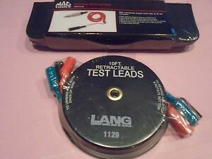 Mac Tools Et113x Test Light Lang 10 Retractable Test Leads Brand New