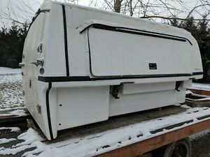 8 Cargobody Fiberglass Truck Cap Tool Box Enclosed Shell Ford Dodge Chevy Gmc