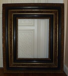 Huge Victorian Antique Picture Frame For A 16 Inch By 20 Inch Painting
