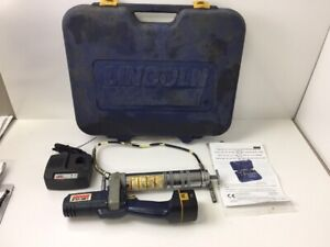 Lincoln Lubrication 1244 1244e Powerluber 12 Volt Cordless Grease Gun