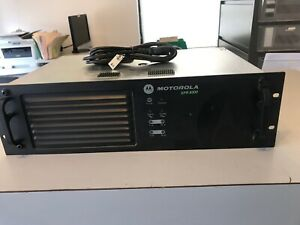 Motorola Xpr8300 Mototrbo Uhf Repeater Aam27trr9ja7an 40w 450 512 Mhz Benched