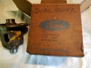1967 69 New Nos Ford 8 1 2 Integral Differential Empty Carrier Case Doaz 4204 b