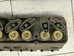 Sbc Cylinder Head 3782461 Single 64 Cc Closed Chamber Double Hump Fuelie Chevy