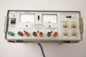 Tektronix Cps250 Triple Output Dc Linear Power Supply Dual Tracking tested