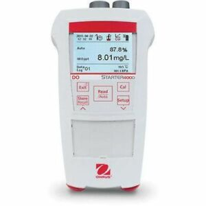 Ohaus Starter St400d b 0 01do Water Analysis Convenient Portable Meter