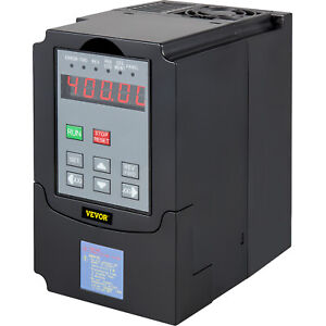 Vevor 5hp 4kw 220vac Vfd Variable Frequency Single Phase Drive Control 3 Phase