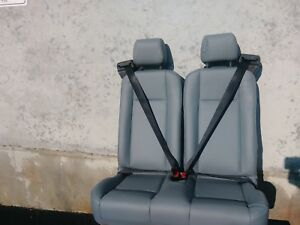 2015 2018 Ford Transit 2 Seater Bench Seat Vinyl Gray Color Oem