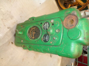 John Deere 40 Series 420 C H Instrument Panel And Support