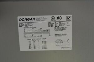 Transformer Dongan Electric 240 480 Kva 3 Phase Delta