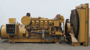 Caterpillar 800 Kw Diesel Generator Cat 3512 Engine 1778 Hrs Csdg 2381