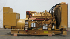 Caterpillar 500 Kw Diesel Generator Cat 3412 Engine 883 Hrs Csdg